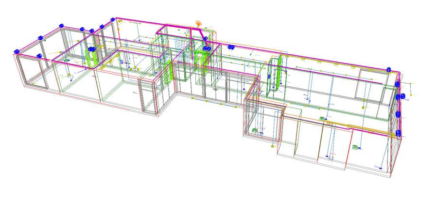 Elektroplanung Smarthome Raumplanung 3D