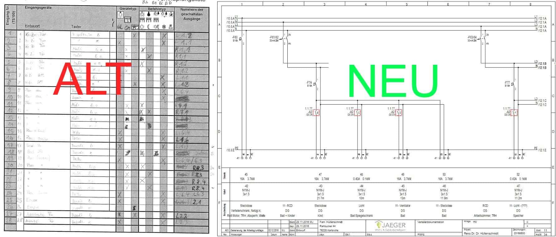 Modernisierung KNX/EIB